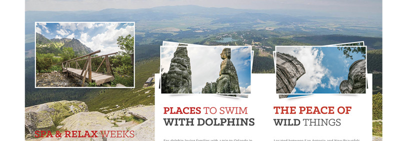 Boutique Travel Agency Brochure Design