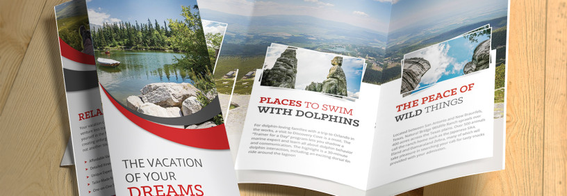 Boutique Travel Agency Brochure Design