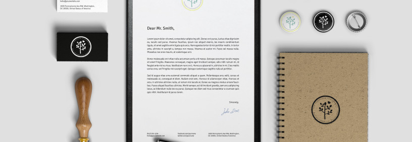 Charity Website and Collateral Design
