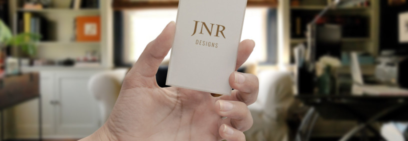 Interior Designer Responsive Website and Collateral Design